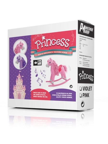 Hojdací koník Milly Mally Princess pink