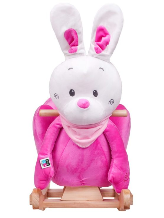 Hojdacia hračka PlayTo králiček ružová