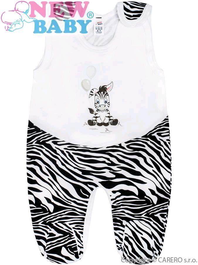 Dojčenský overal New Baby Zebra s balónikom