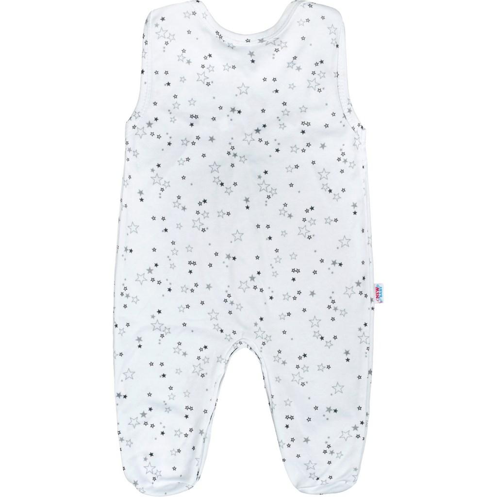 Dojčenské dupačky New Baby Magic Star sivé
