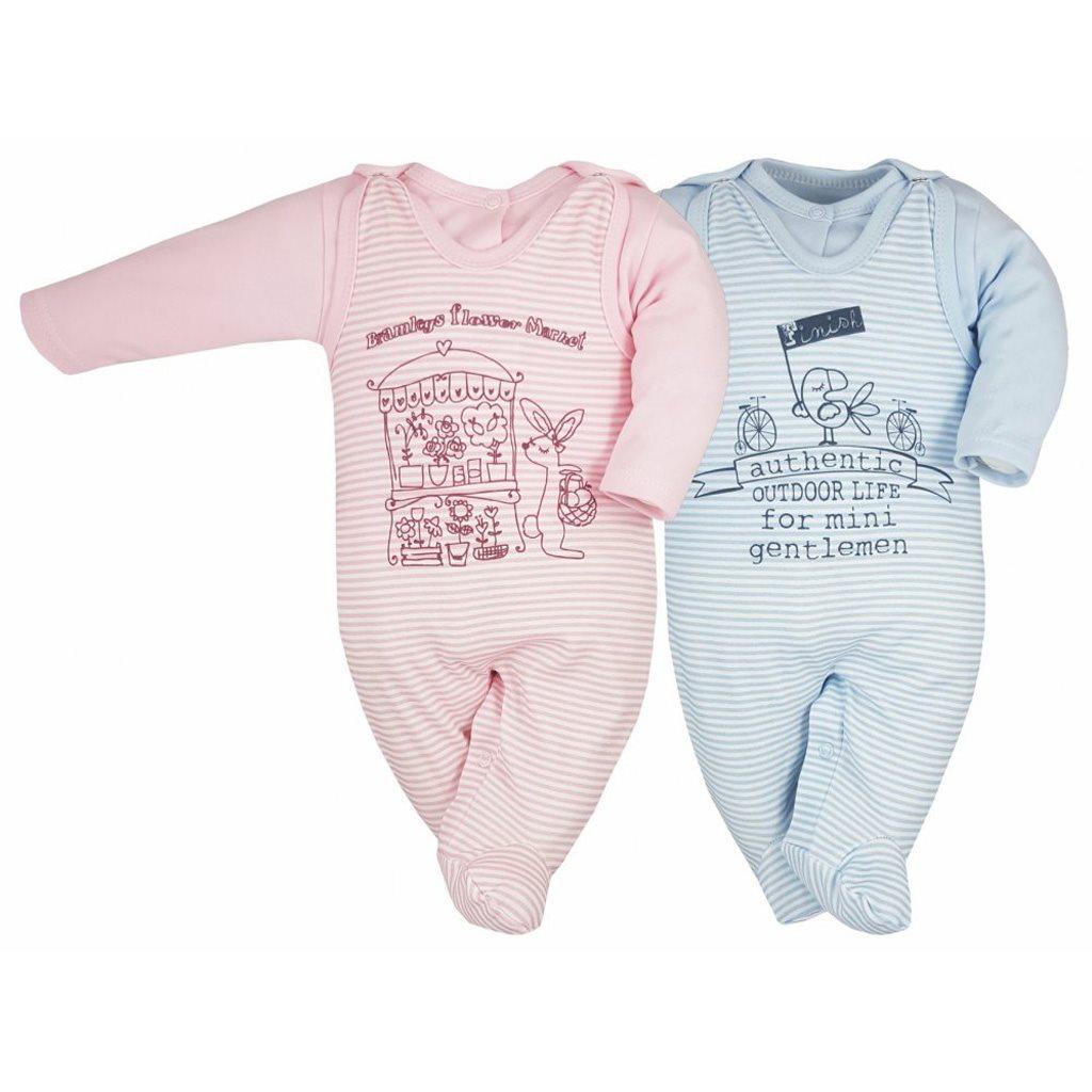 Dojčenská súpravička Bobas Fashion Mestečko ružové