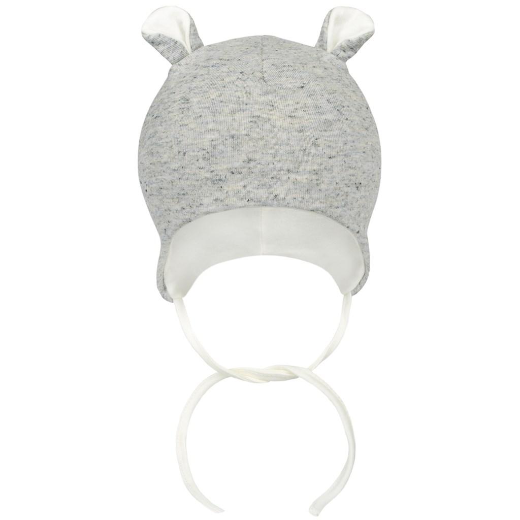 Zimná dojčenská čiapočka Baby Service Animals sivá