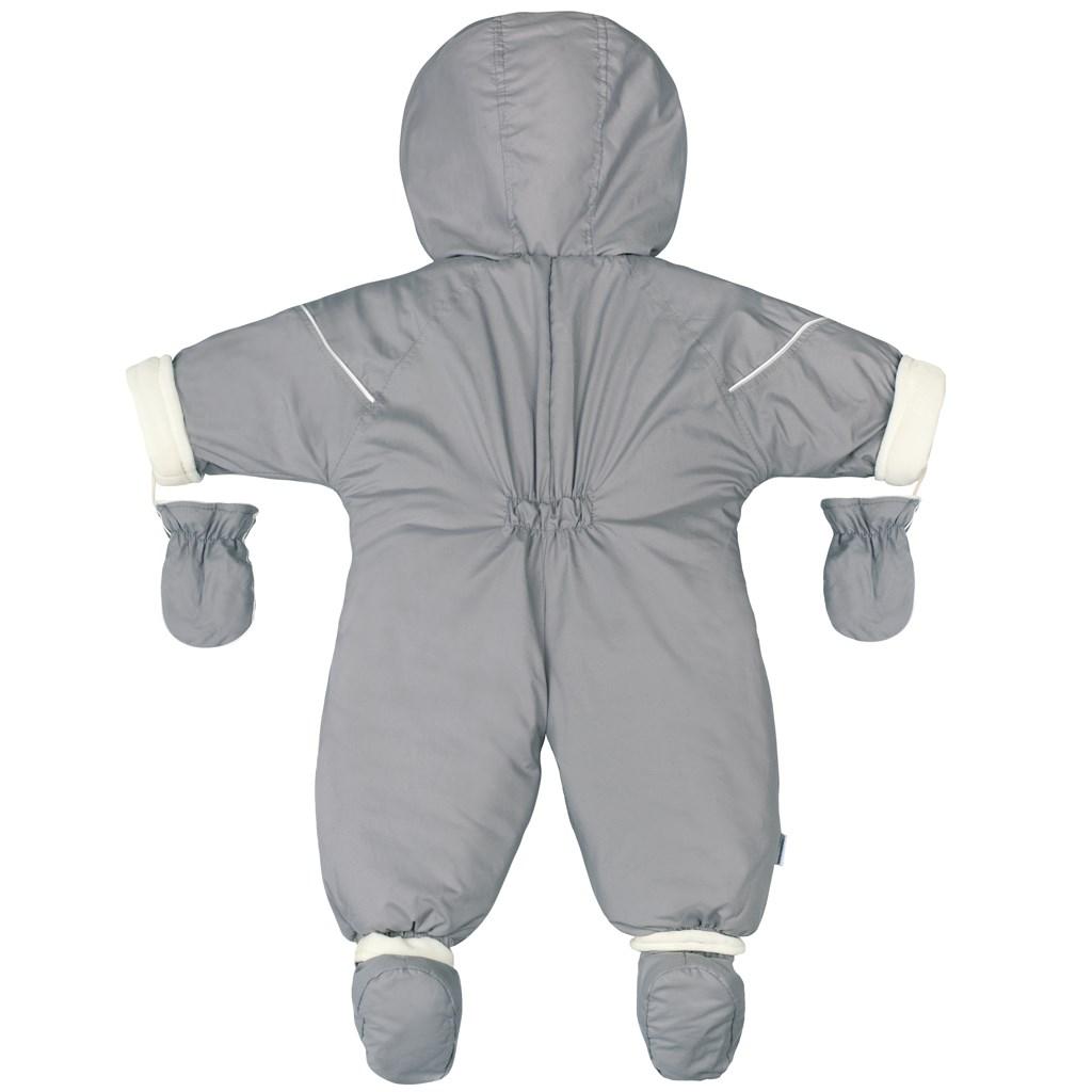 Zimná kombinéza 2v1 New Baby Winter sivá