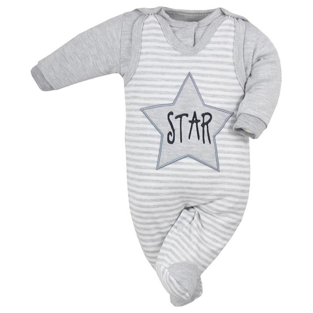 2-dielna dojčenská súprava Koala Star s pruhmi