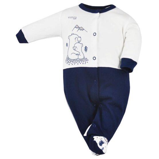 Dojčenský overal Koala Tajga modrý
