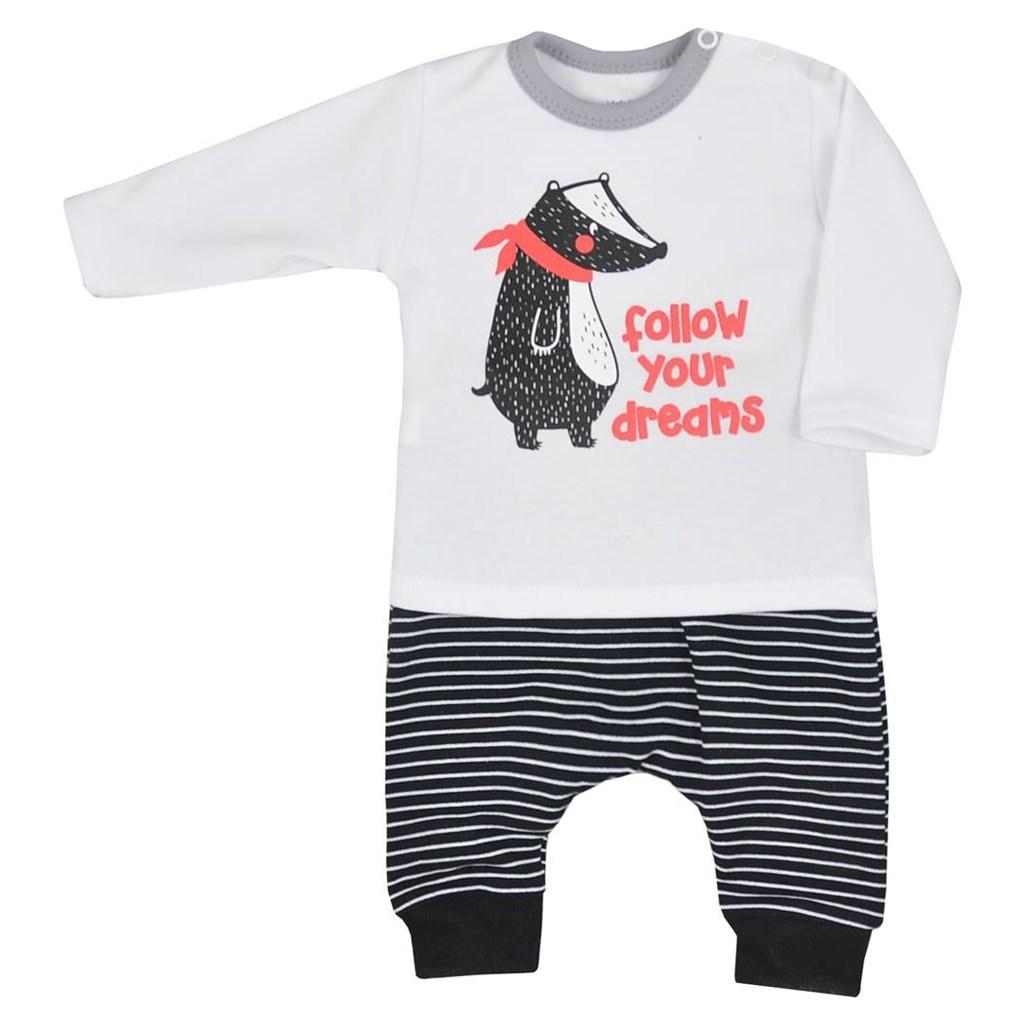 Dojčenské tepláčky a tričko Koala Jazvec