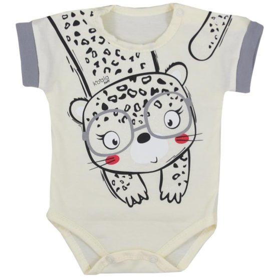 Dojčenské letné body Koala Sara béžové