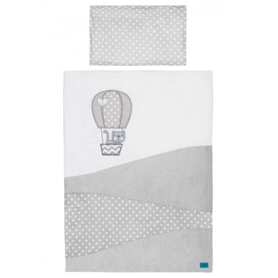 3-dielne posteľné obliečky Belisima Balón 100×135 biele