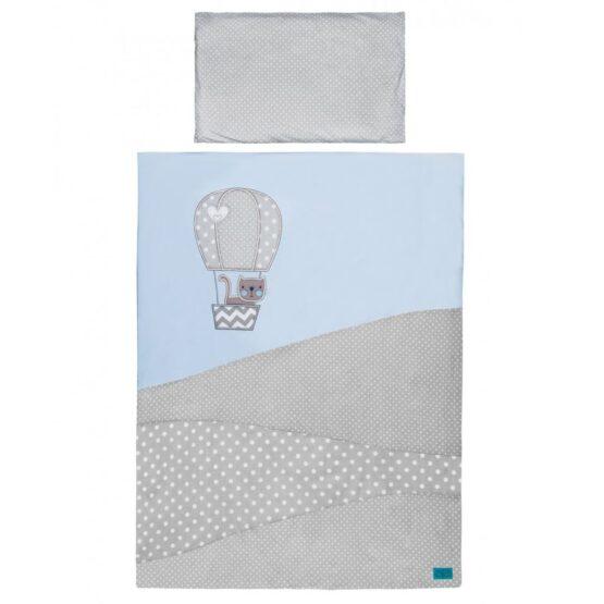 3-dielne posteľné obliečky Belisima Balón 100×135 modré