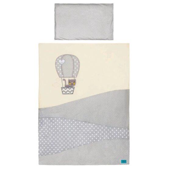 3-dielne posteľné obliečky Belisima Balón 100×135 béžové