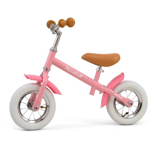 Detské odrážadlo bicykel Milly Mally Marshall Air Pink